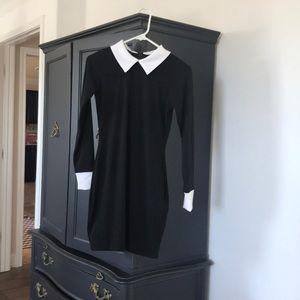 Dresses & Skirts - Small Black/White Wednesday Addams Dress